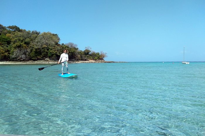 Rent Paddle Surf Panama, Saboga Island
