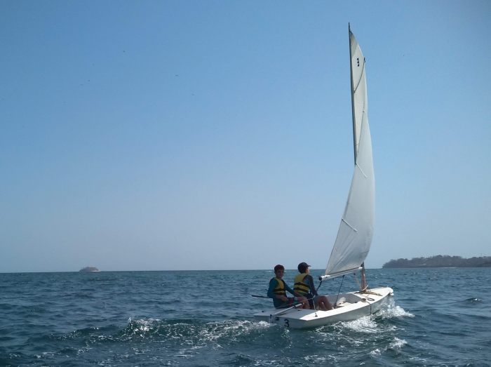 Panama Sailing Splash