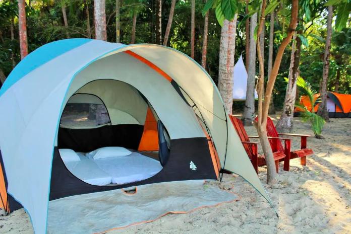 Camping Saboga, 5 people, Pearl Islands, Panama