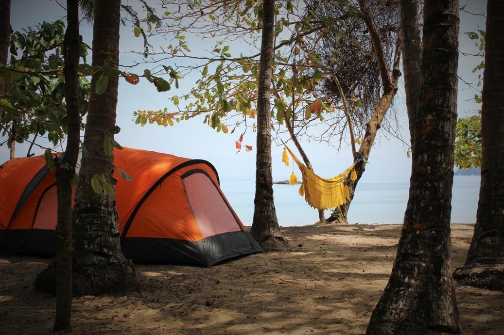 Camping Saboga, 2 people, Pearl Islands, Panama