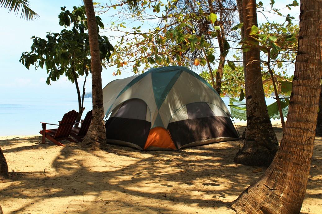 Camping Saboga, 4 people, Pearl Islands, Panama