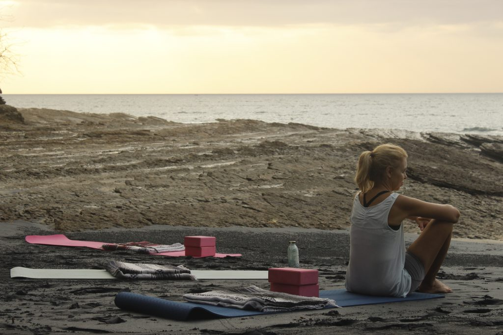 Yoga in Playa Negra, Saboga, Panama