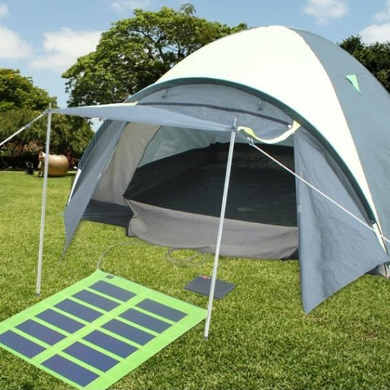 solar power camping