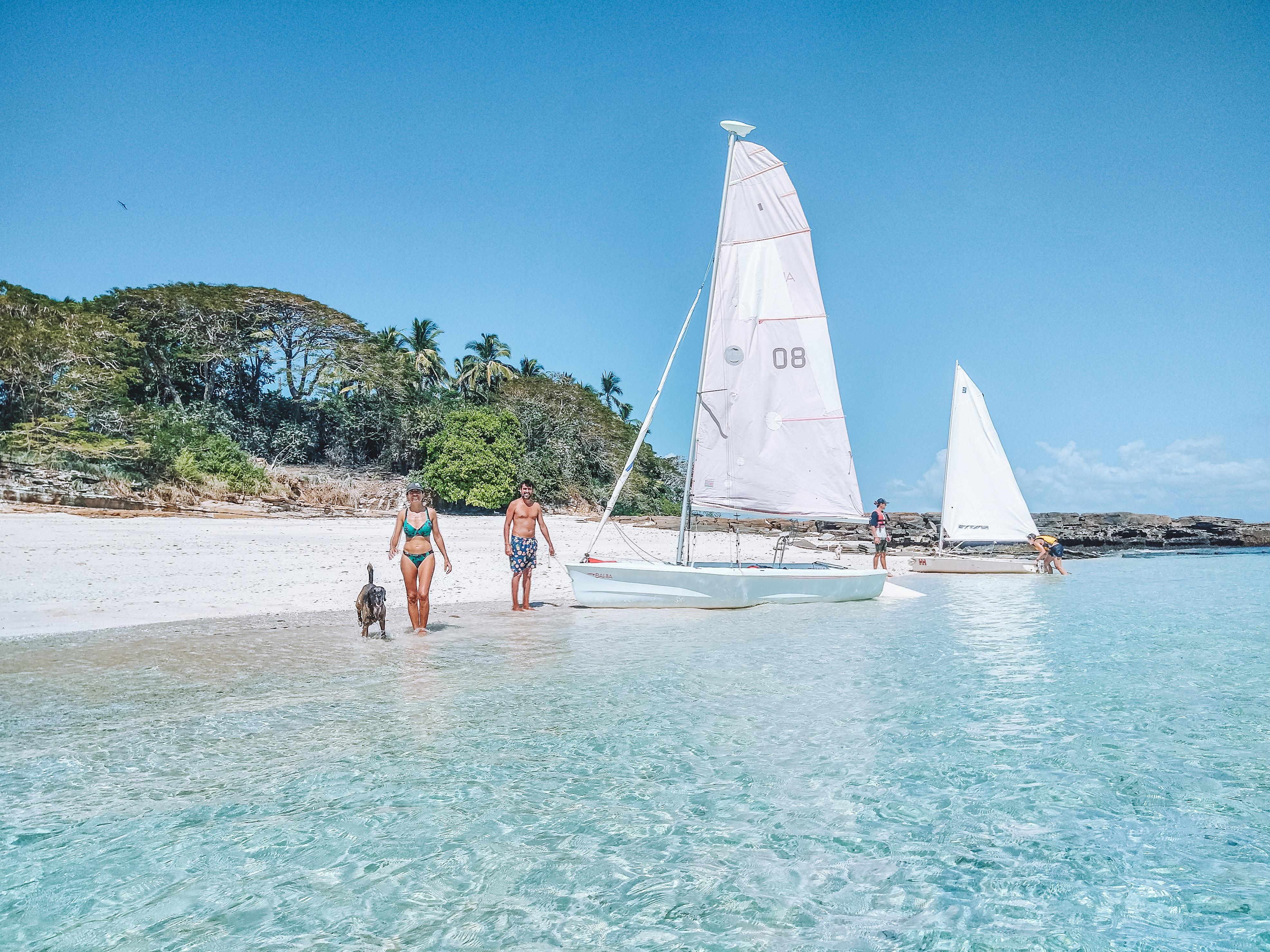 Navegar a Isla Bartolome, Islas Perlas, Panama